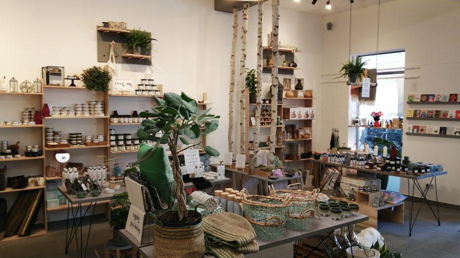Shop mit Kosmetikprodukten