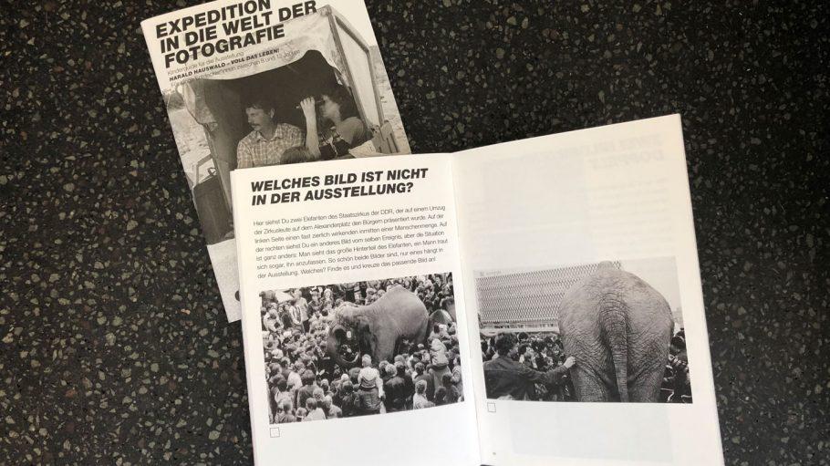 Harald Hauswald . Voll Das Leben! C/O Berlin Kinderbooklet