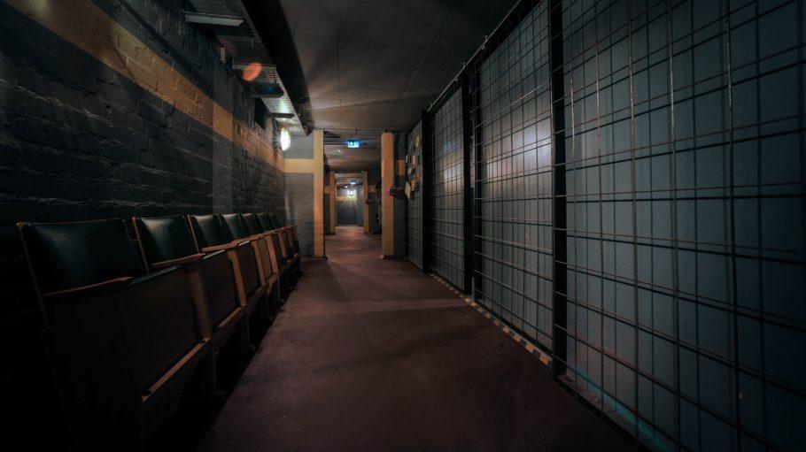 Flur im Bunker