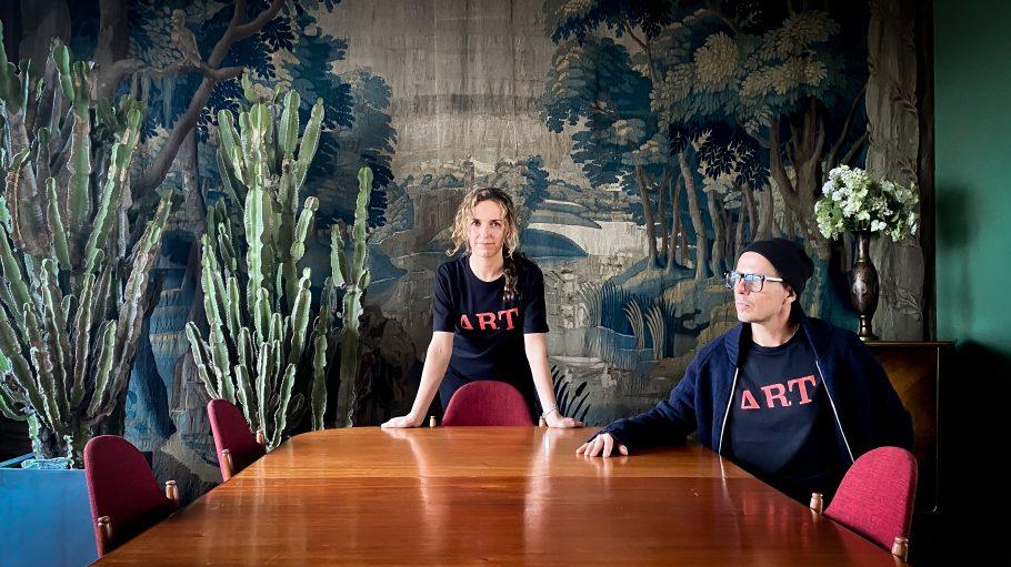 Uli und Michi Beck machen seit 2018 zusammen Mode.