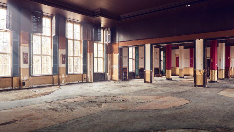 Wird bald wieder mit Musik und Gelächter erfüllt: der Festsaal des Zenner.