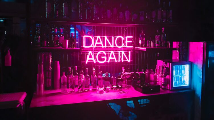 Bar im Club
