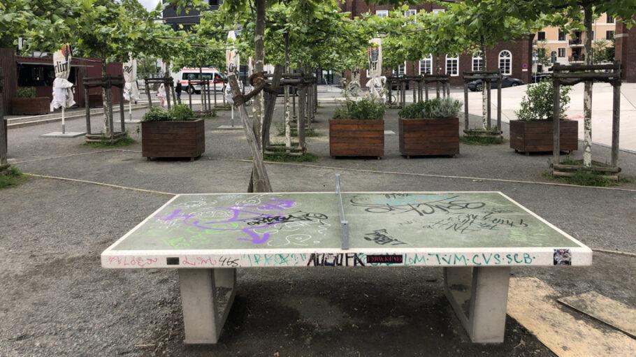 Tischtennisplatte Neukölln
