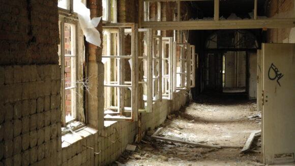 """Die Beelitzer Heilstätten sind regelmäßig Kulisse für TV-Produktionen: Gerade erst fand hier ein Shooting für """"Germany's Next Topmodel"""" statt."""