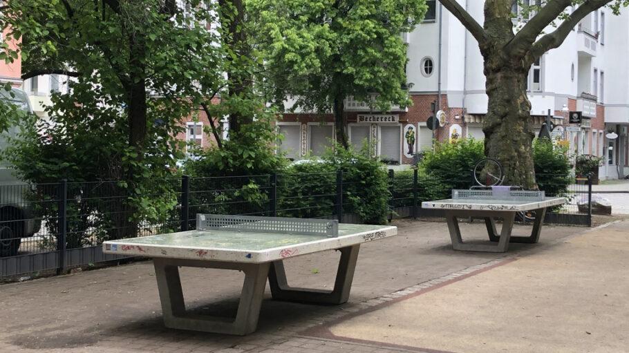 Tischtennisplatten Schillerkiez
