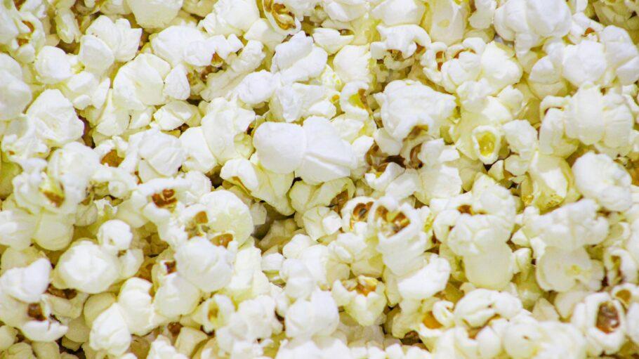 white flower petals on white textile