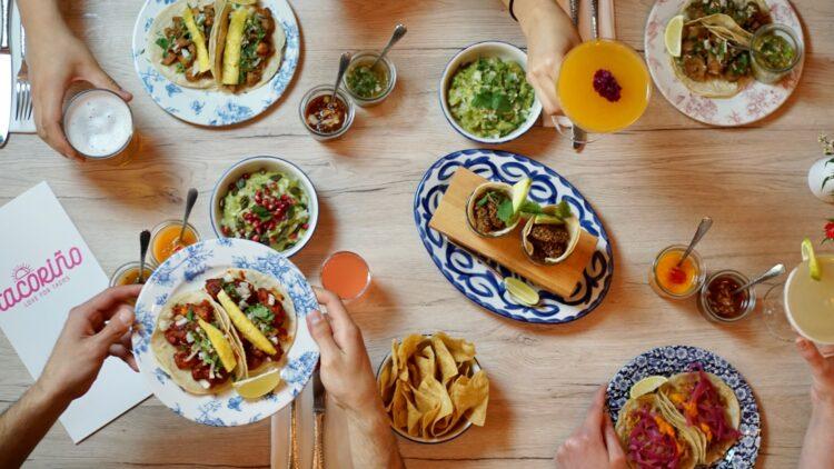 Nicht nur optisch ein Highlight: Bei der großen Auswahl an Tacos ist für jeden Geschmack was dabei.