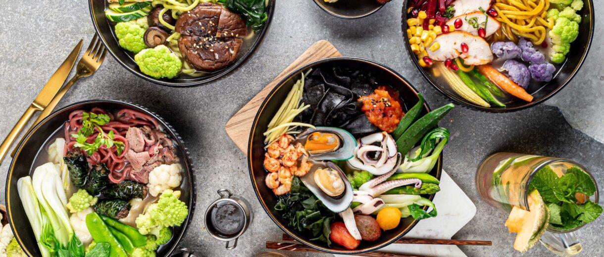 Nicht nur was für den Gaumen. Essen bei Noumi ist definitiv auch was fürs Auge.