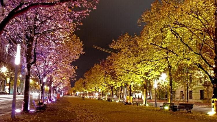 Berlin - Unter den Linden Festival of Lights