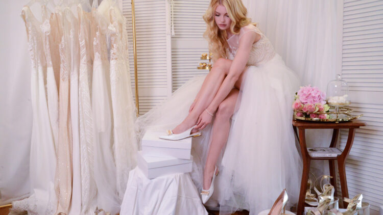 Zum perfekten Kleid gehört natürlich der perfekte Schuh!