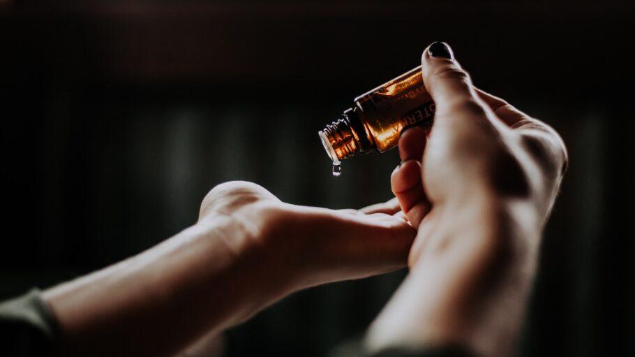 Hände Öl Haut