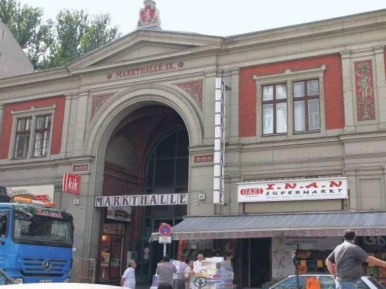 Hier soll Leben einkehren: Markthalle in der Eisenbahnstraße, Kreuzberg