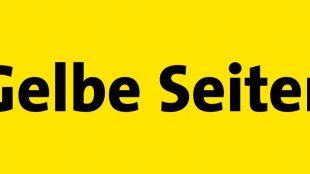 Das Logo des Branchenbuches Gelbe Seiten