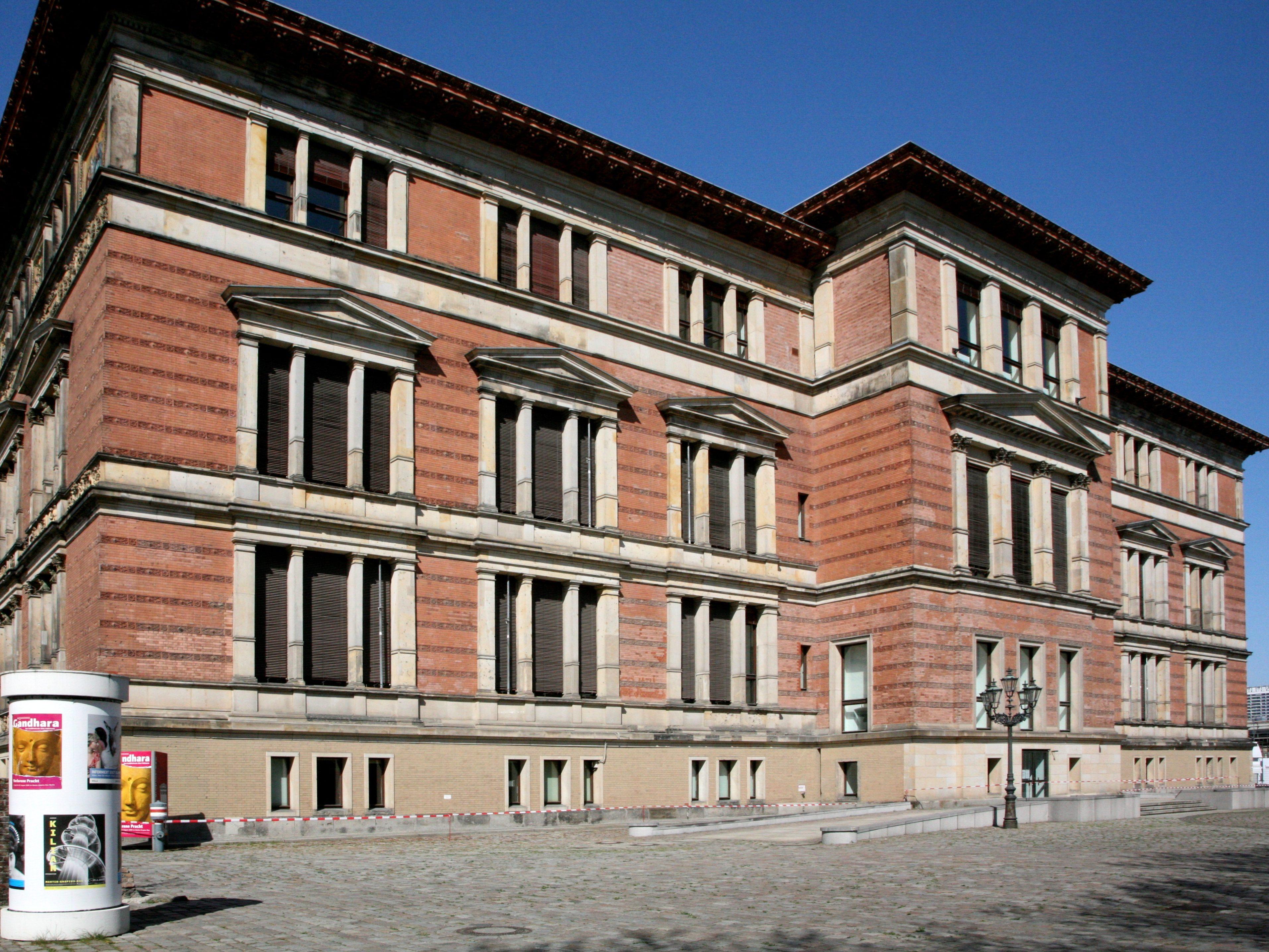 Der Martin-Gropius-Bau in Berlin-Kreuzberg: Ab Juni 2012 werdne iher die Werke der Fotografin Diane Arbus gezeigt.