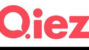 Das Logo des Berliner Stadtmagazins QIEZ verlegt von BFB.