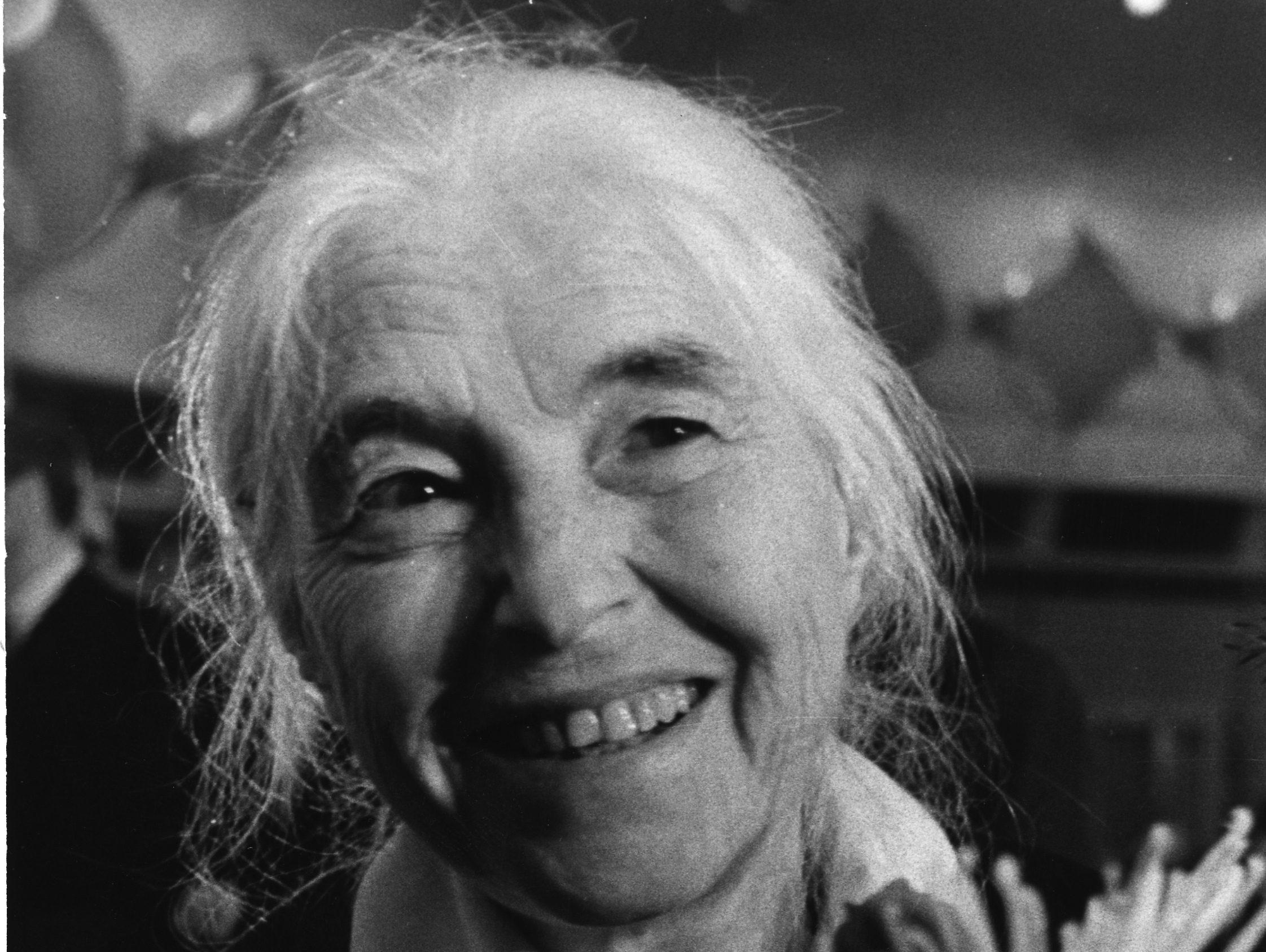 Die deutsche Schriftstellerin Anna Seghers an ihrem 80. Geburtstag am 19. November 1980.