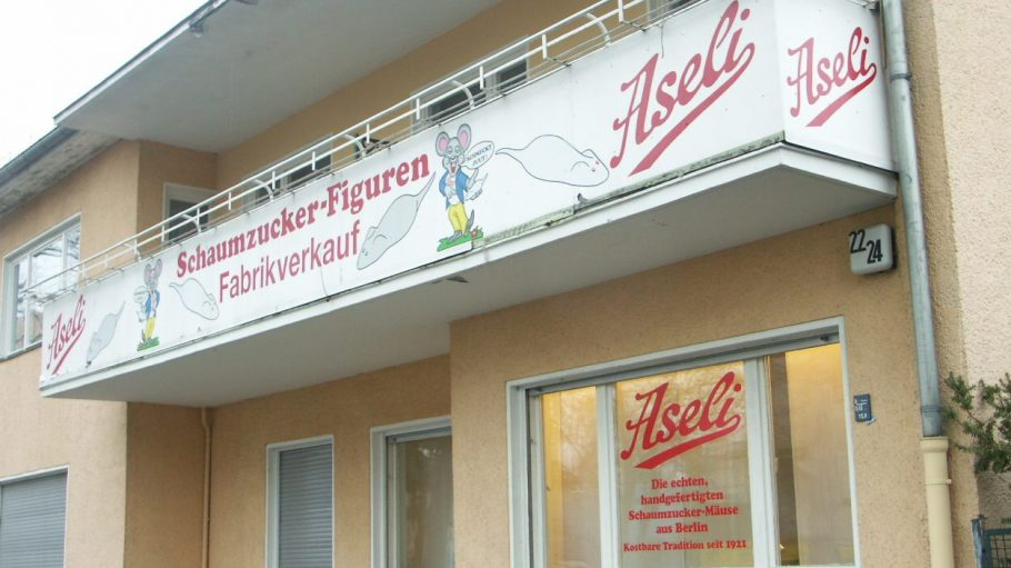 Seit 1921 produziert Aseli schon seinen berühmten Schaumzucker.