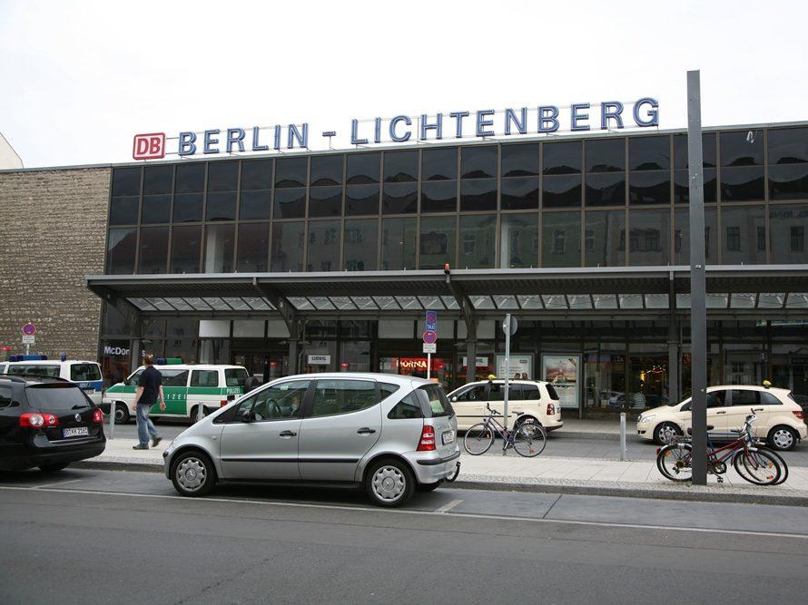 Der Bahnhof Lichtenberg war zu DDR-Zeiten der wichtigste Fernbahnhof berlins.