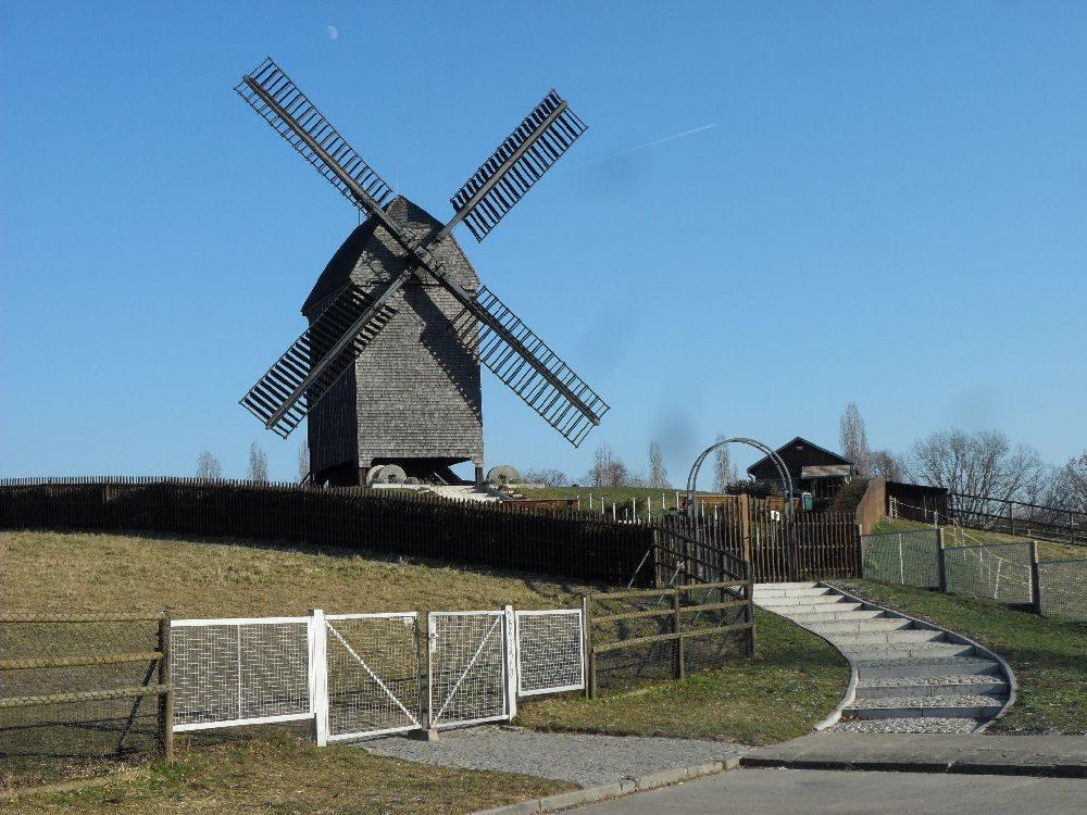 Technik anno 1900: Bockwindmühle Marzahn