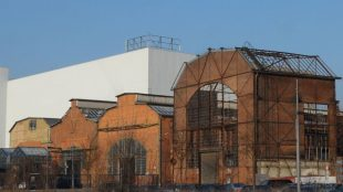 1898 wurde das Werk in Tegel eingeweiht.
