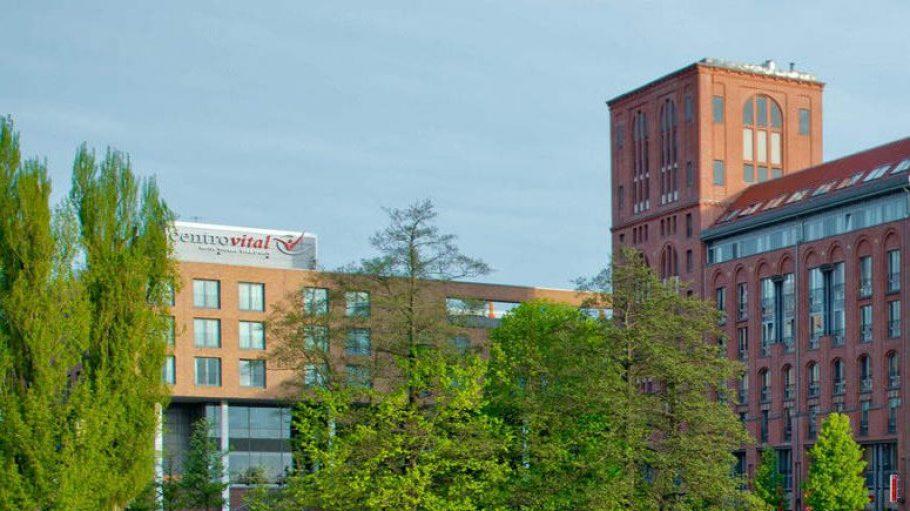 Centrovital in Berlin-Spandau - mit Blick aufs Wasser.