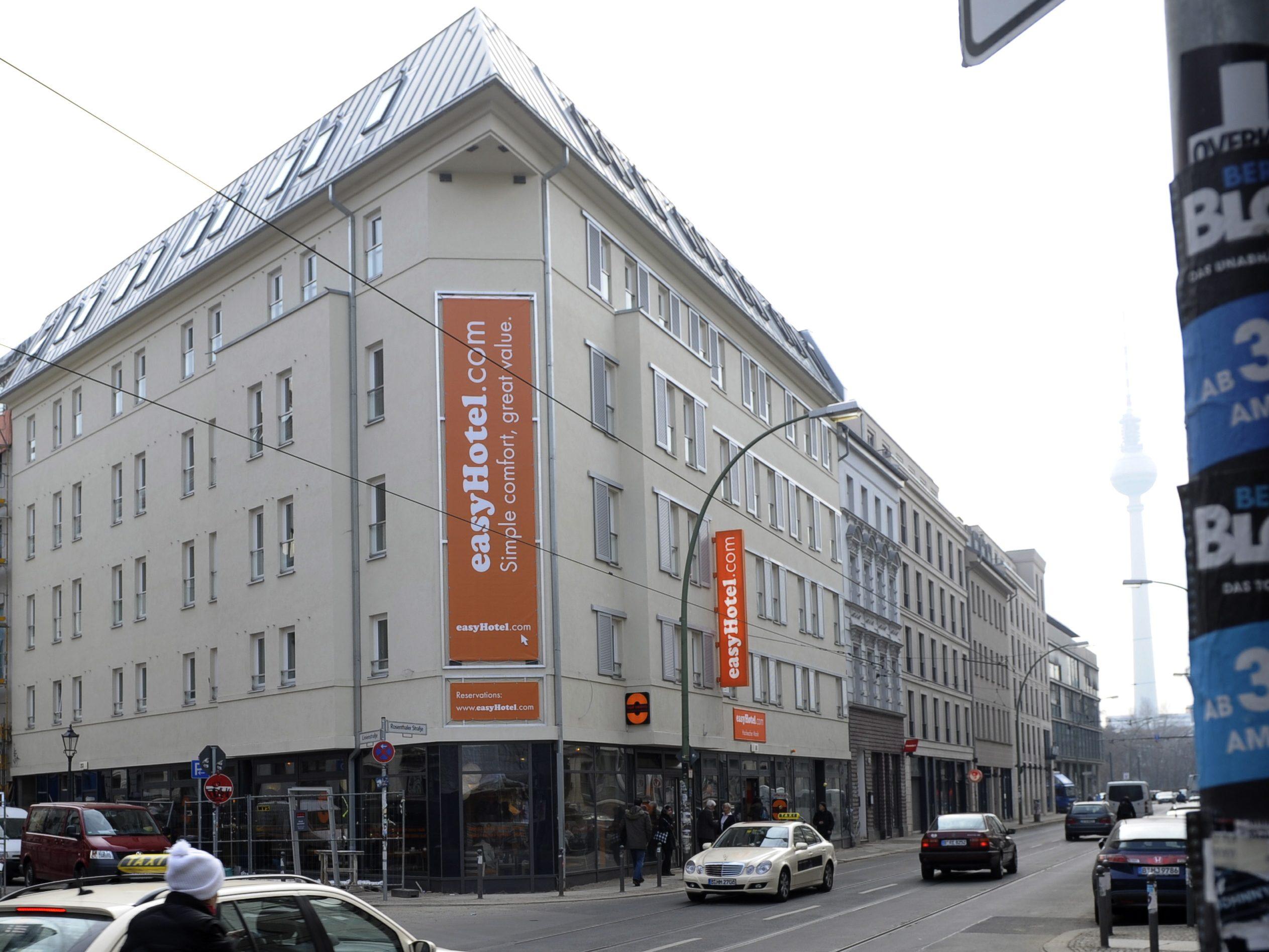 Das Easyhotel am Rosenthaler Platz