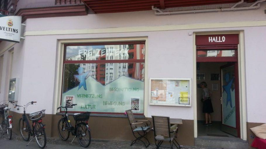 Treffpunkt für Jung und Alt im Kiez: das Freizeiteck im Brunnenviertel.
