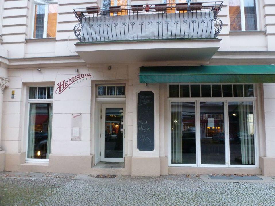 Das Restaurant von außen.