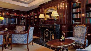 Zum Lesen, Entspannen, Schmökern: die Club Lounge.