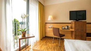 Hotelzimmer im Centrovital Berlin-Spandau.