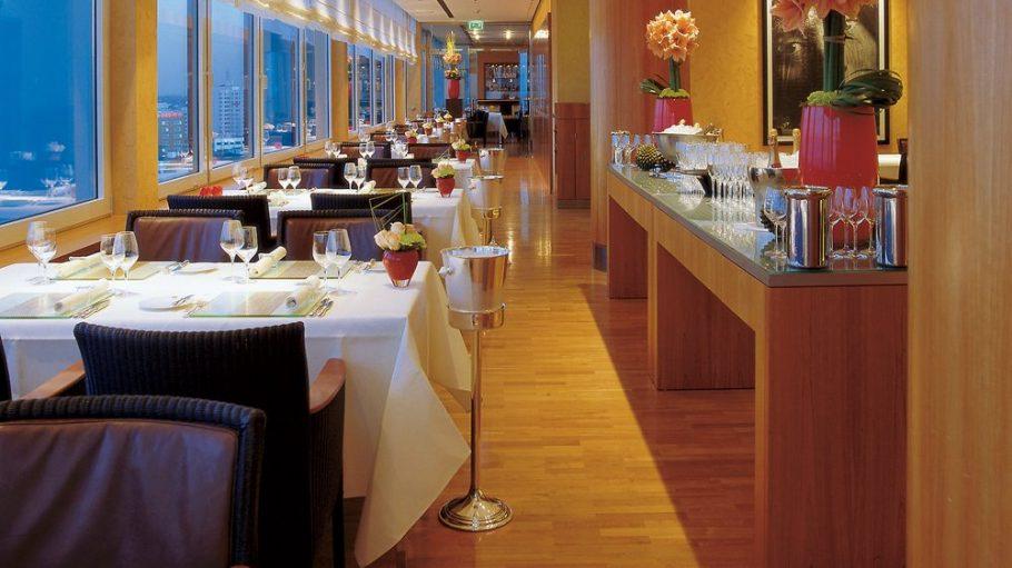 Im Hugos im Hotel InterContinental erwartet die Gäste höchste Kochkunst ...