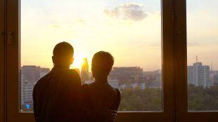 ... und ein spektakulärer Ausblick auf Berlin.
