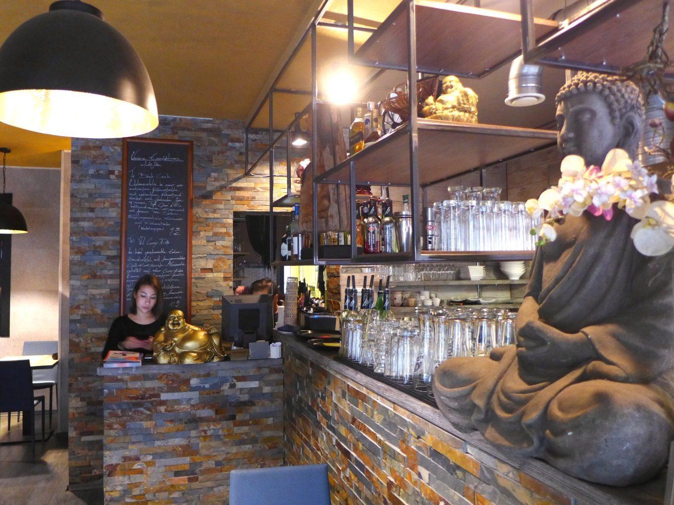 Im Restaurant Bao.