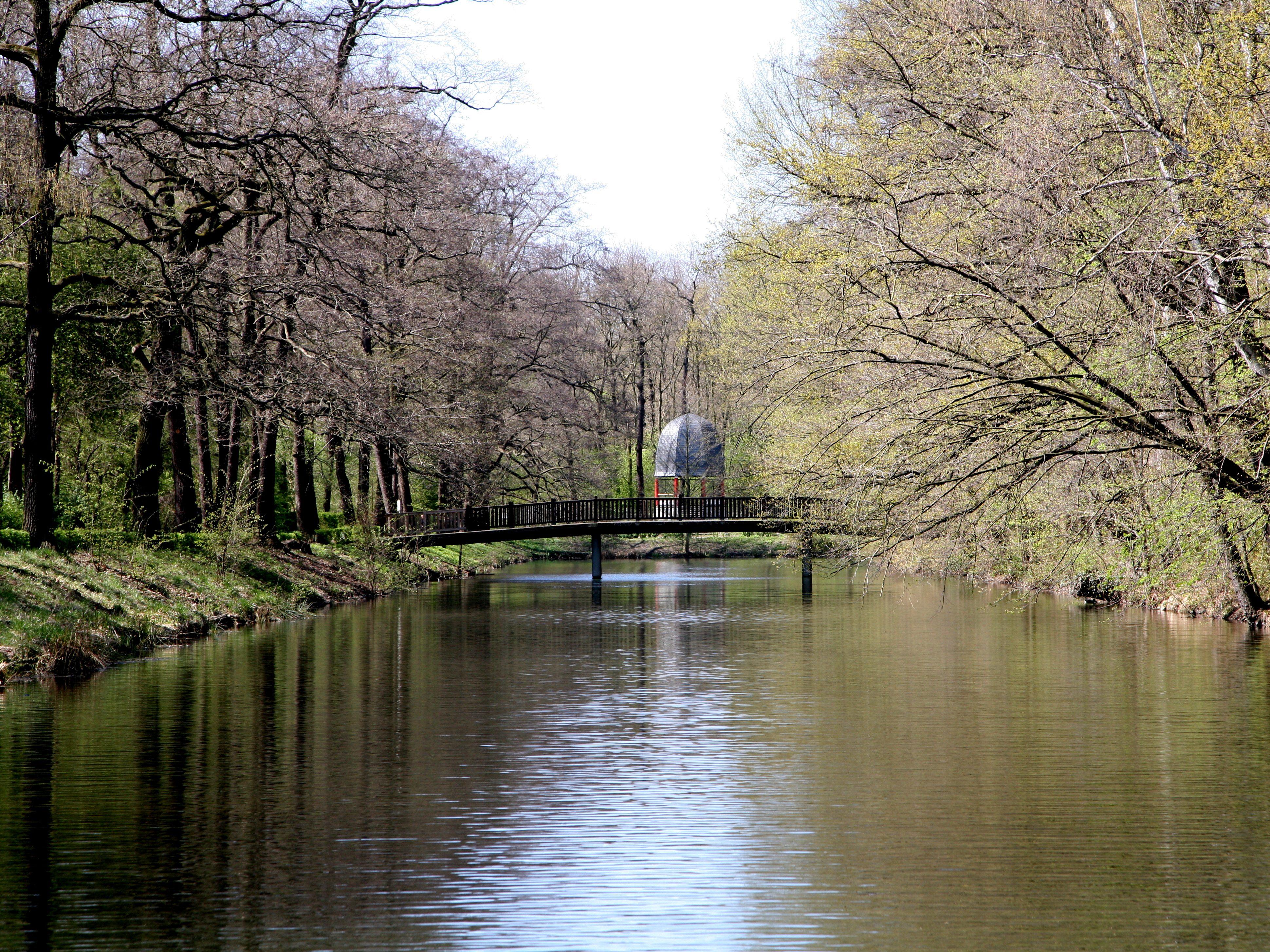 Viel Wasser, viel Natur: Der Volkspark Jungfernheide bietet Erholung verschiedenster Art