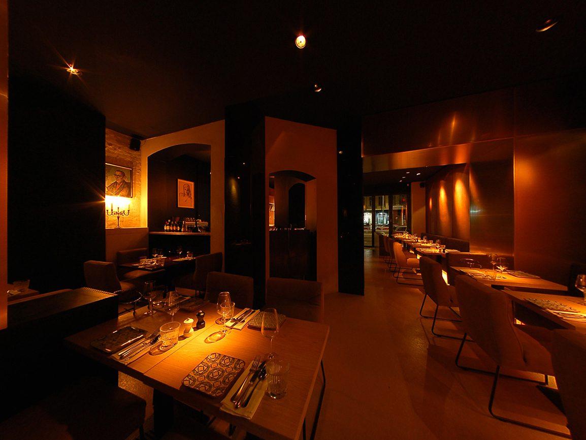Restaurant PeterPaul, Tische innen