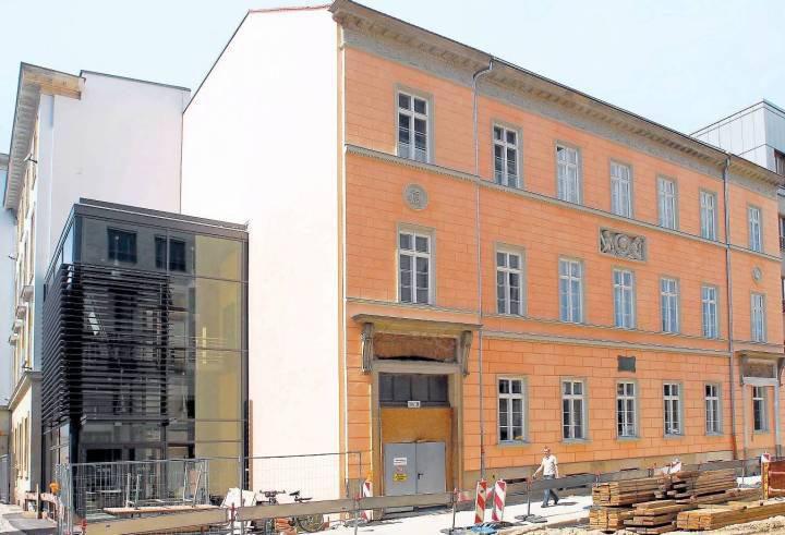 Das Schadow-Haus in Mitte: Hier wohnte der Künstler, der die Quadriga auf dem Brandeburger Tor schuf.