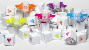 Schönes Geschenk: die Kerzen von Popup