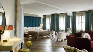 Die Large Suite: Das Design greift den Chic der 20er und 30er Jahre, aber auch Elemente des Industriedesigns auf.