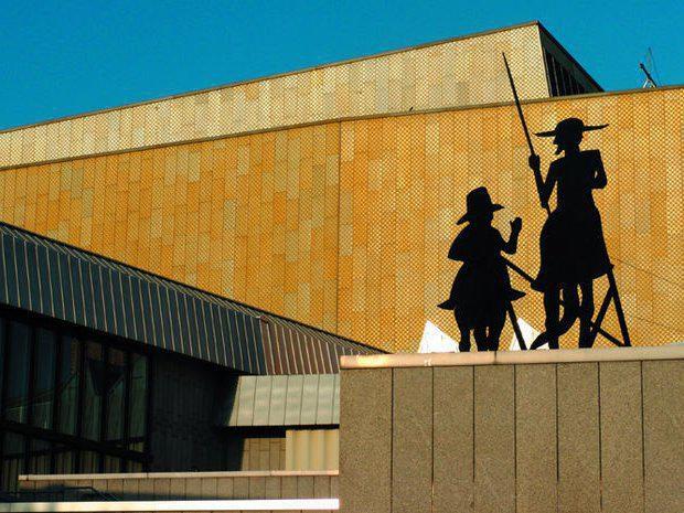 Großzügiger Bau von Hans Scharoun: Staatsbibliothek Potsdamer Straße - oder kurz: Stabi West