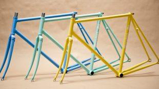 Coole Fahrradrahmen von Standert.