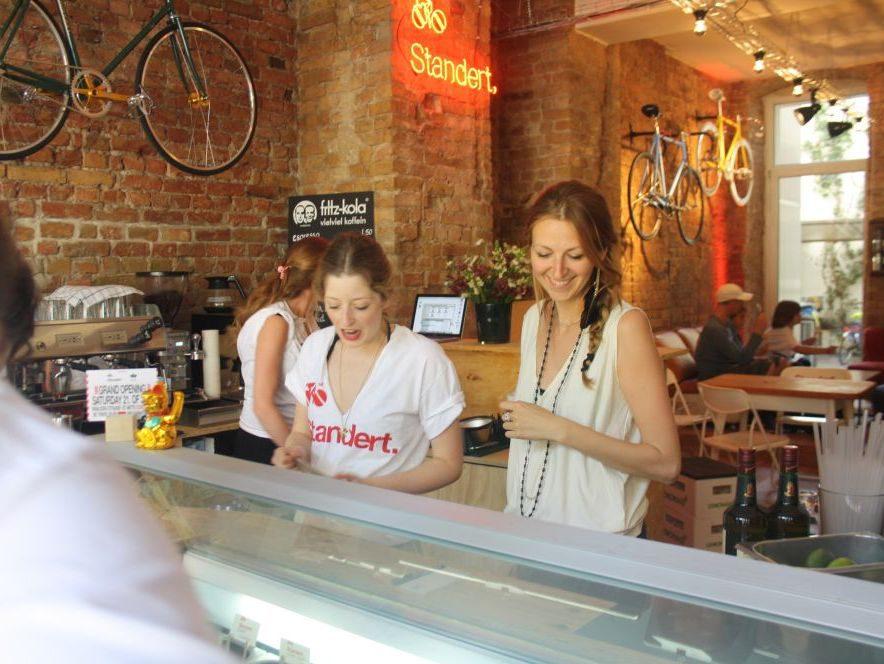 Das Konzept: Café meets Bike-Store.