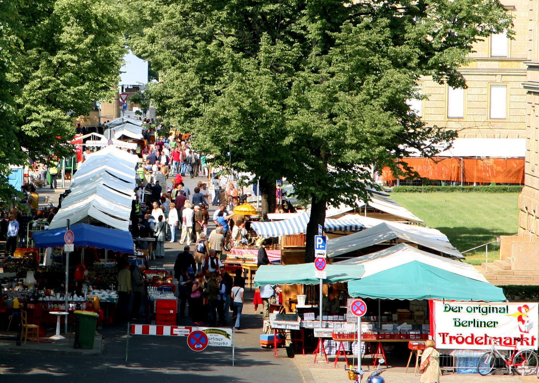 Trödelmarkt Straße des 17.Juni