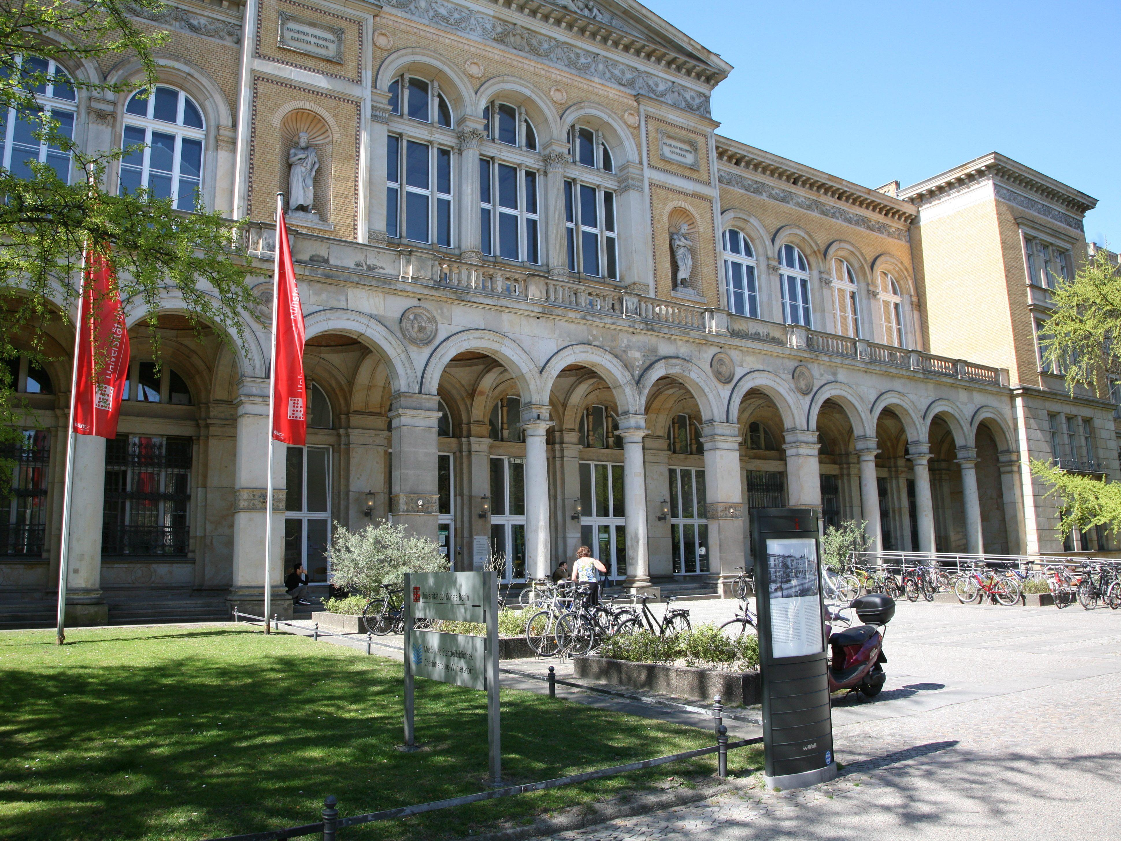 Die Universität der Künste an der Bundesallee.
