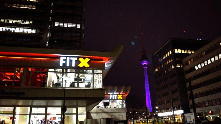FitX Fitnessstudio Berlin-Alexanderplatz
