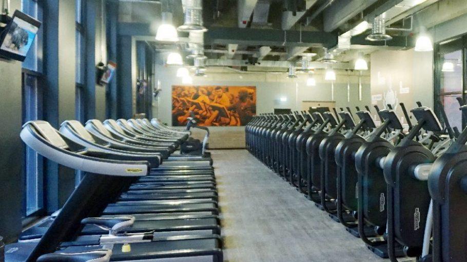 FitX Fitnessstudio Berlin-Tempelhof: Der Cardiobereich.