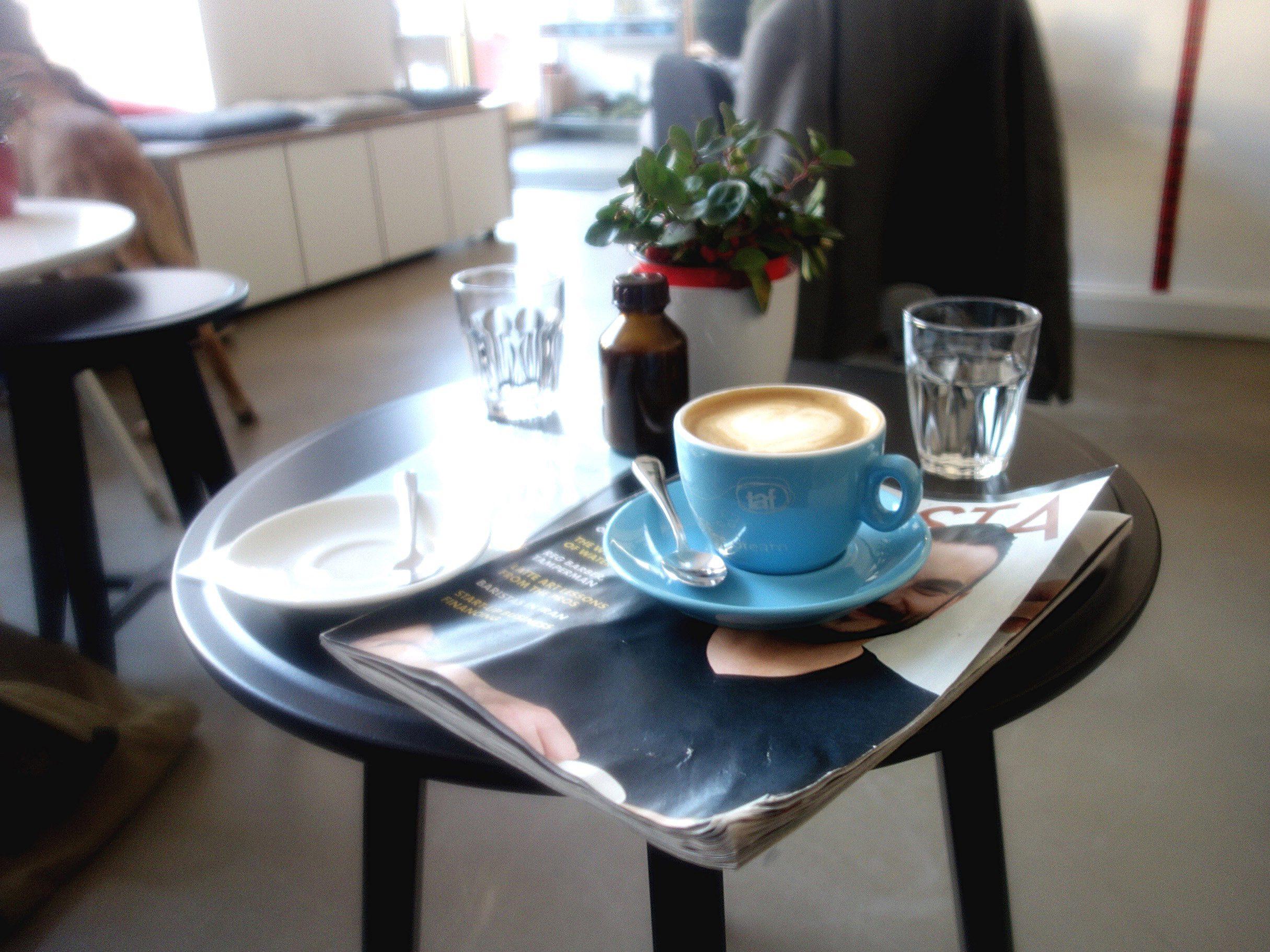 Zu Gast im Coffee Profilers. (c) Janna Schneider