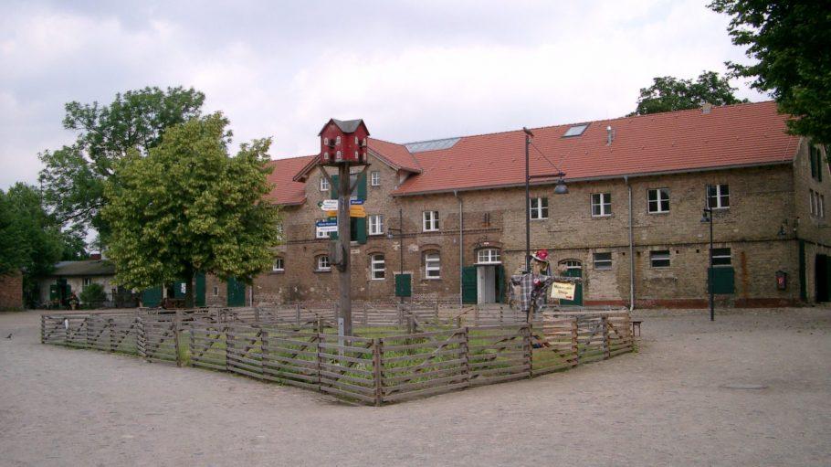 Freilichtmuseum, Bauernhof, Ausflugsort: Das Areal der Domäne Dahlem ist 15 Hektar groß