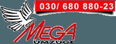 MEGA Umzüge Logo
