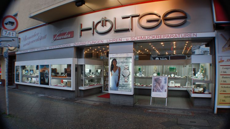 Juwelierladen Höltge von außen